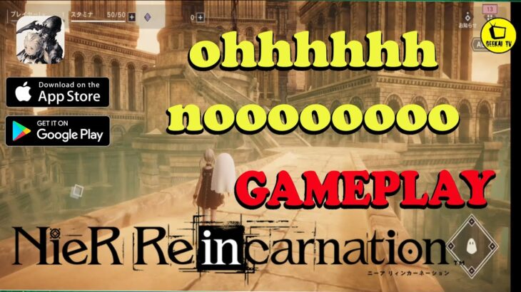 NieR Re[in]carnation….Android Gameplay