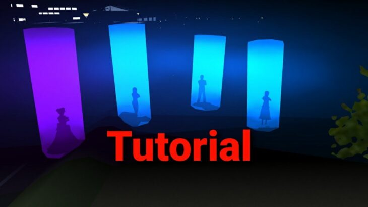 sakura school simulator Alien magical light tutorial