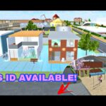 Download Now: 3 Aesthetic Houses with Mini Playground in Sakura School Simulator