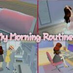 "Morning Routines🌈"" Sakura School simulator"