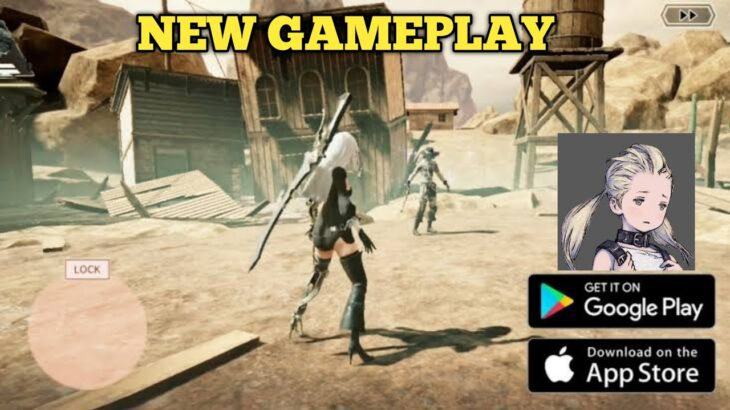 NieR Re[in]carnation (ENG) – Grand Open Launched | GAMEPLAY [FULL HD 1080P 60FPS] (ANDROID/IOS)