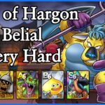 DQ II Event: Hall of Hargon – Belial VERY HARD | Dragon Quest Tact