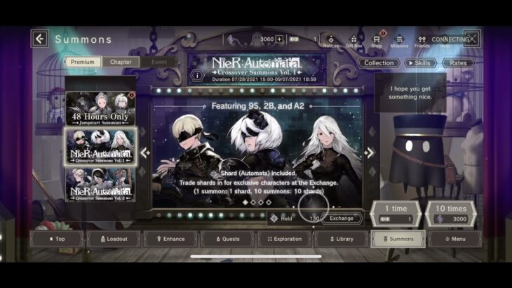 NeiR Re[in]carnation Summons #14